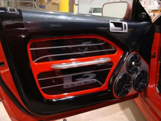 Custom Mustang Interior Custom T3 Audio Interior Audio Audio Interior In 2020 Mustang Interior Mustang Car Interior Diy