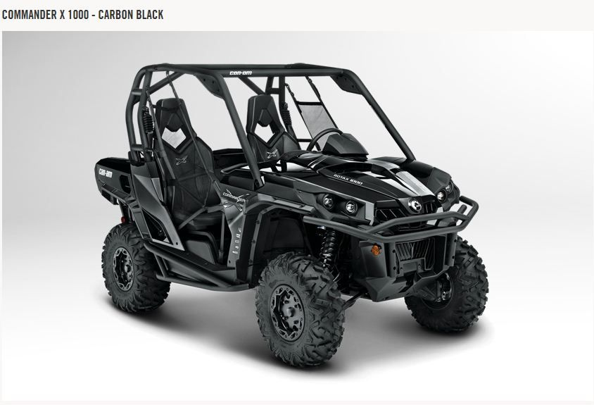 Can Am Side By Side Atv New 2013 Can Am Commander 1000 X For Sale New Glasgow Ns Can Am Commander Can Am Atv