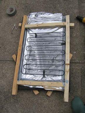 Colector solar casero para calentar agua mi energ a for Calentar agua piscina casero