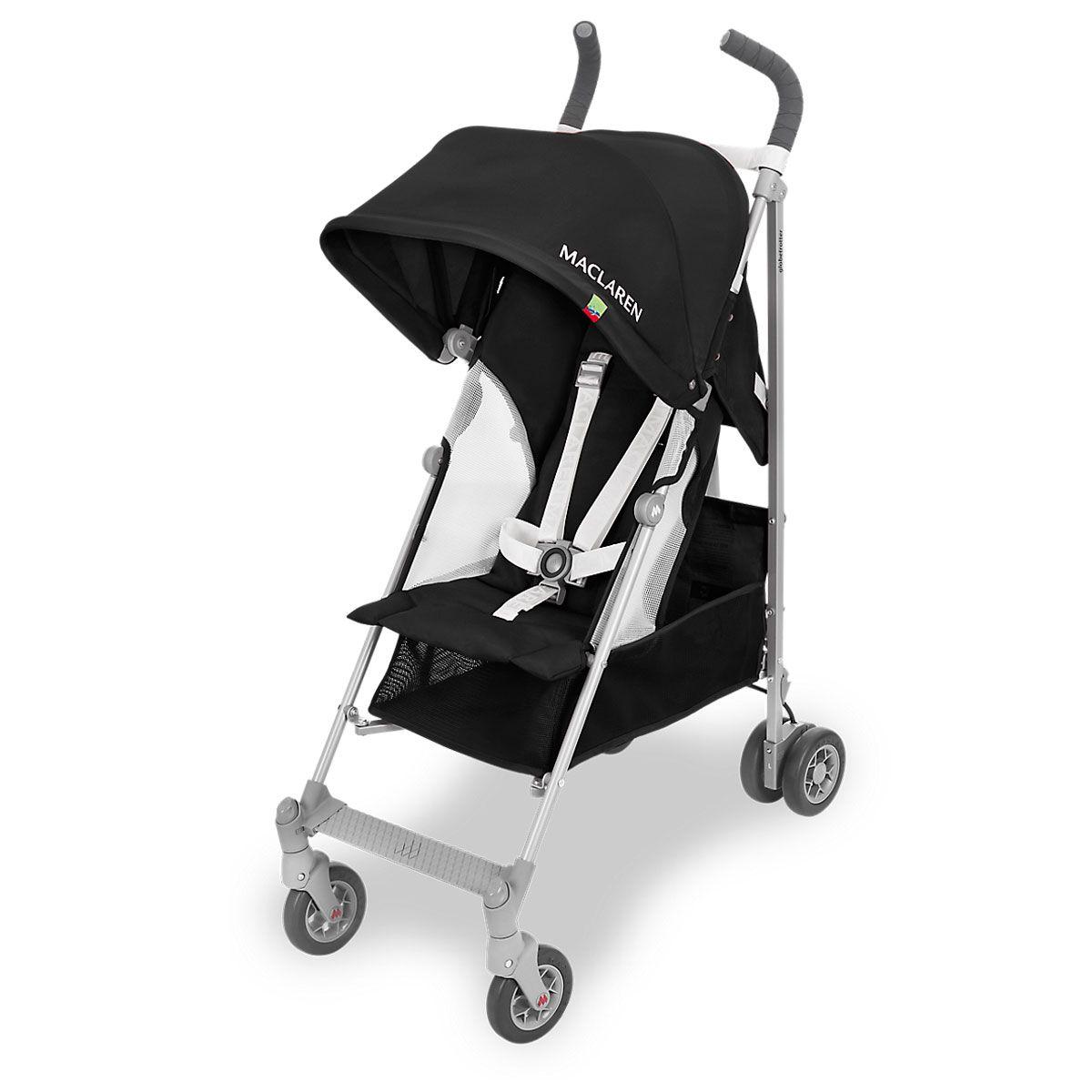Globetrotter (2018) Black/White Umbrella stroller