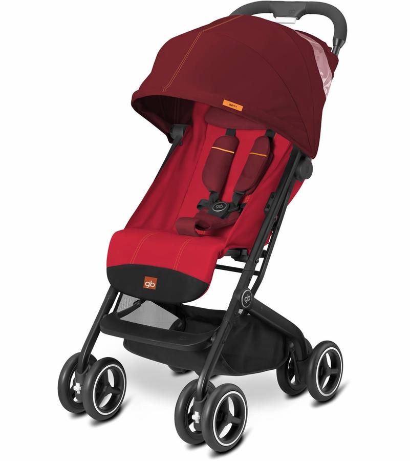 GB Qbit Plus Stroller Dragonfire Red Travel stroller