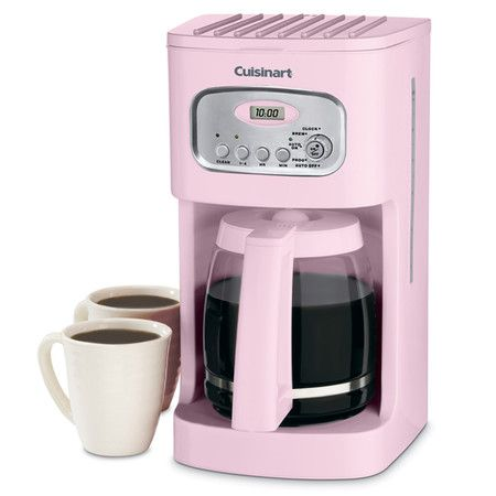 Coffee Makers Cuisinart Coffee Maker Pink Kitchen Coffee Maker