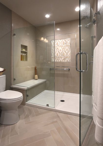 Small Bathroom Remodel Ideas With Shower Only: Transitional Bathroom By Altera Design & Remodeling, Inc