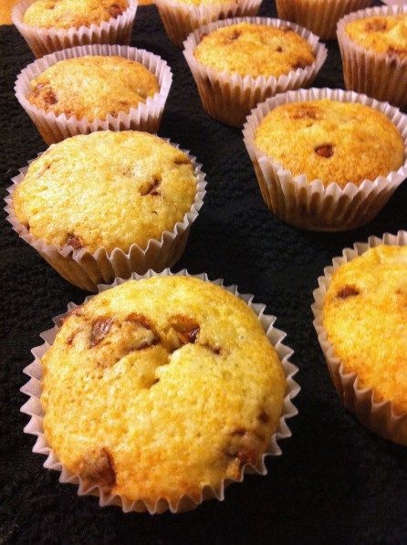 Cake Mix Apple Cinnamon Muffins