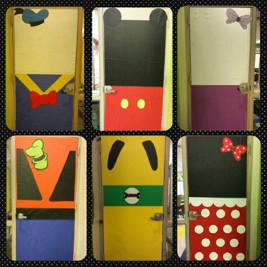 Mickey Classroom Decor : Disney classroom doors pinterest