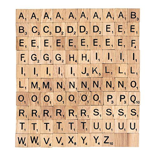 Where To Buy Scrabble Tiles Without Spending Big On The Whole Boardgame Wooden Scrabble Tiles Scrabble Tiles Letter A Crafts