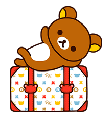 Rilakkuma is back again to share his carefree life with you all! Use these cute stickers to liven up your chats!