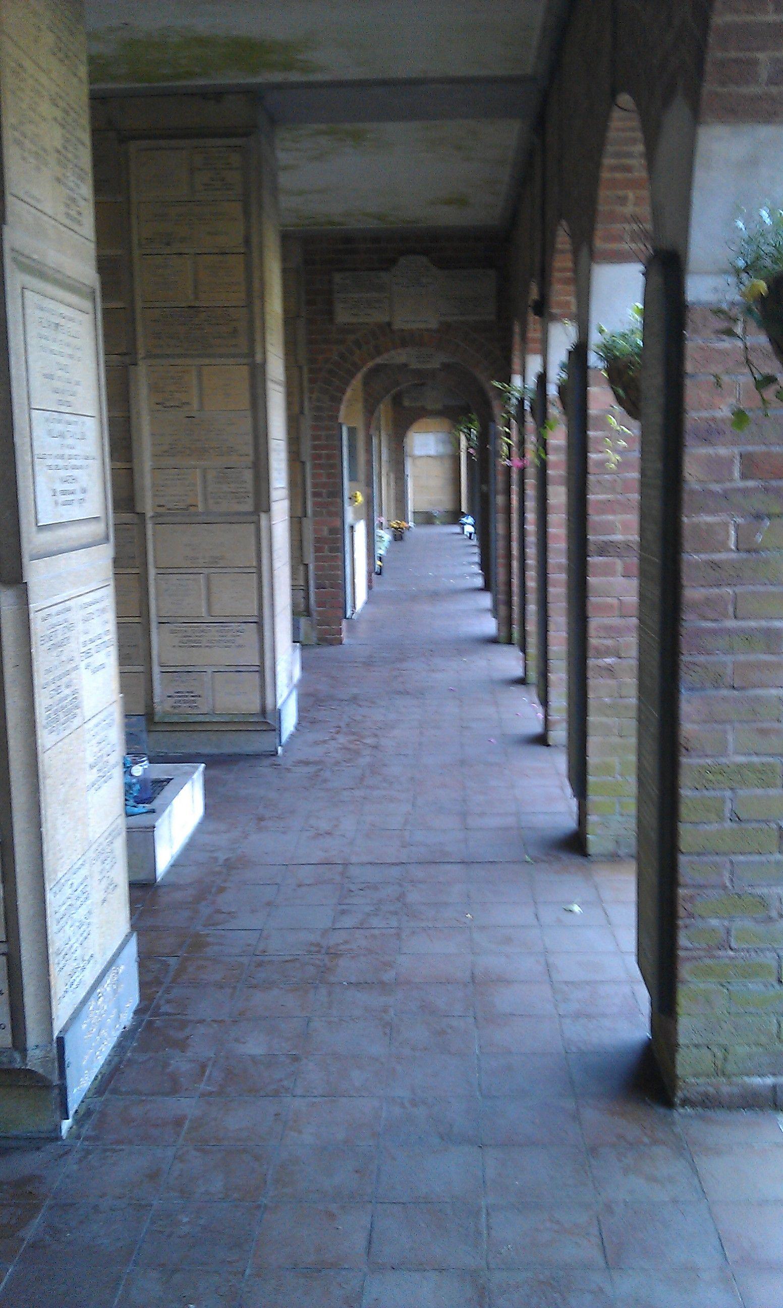 The Old Memorial Wall, Manchester Crematorium
