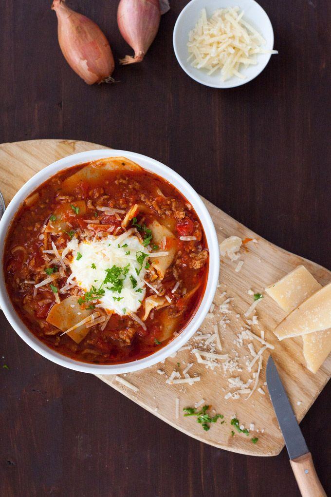 Lasagne-Suppe - So geht's - kochkarussell.com