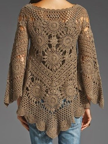 The Free Crochet Patterns Shape Twisted Like A Lacy Fabric And Is
