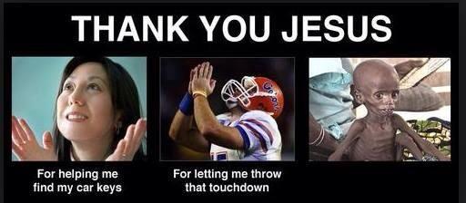 Tim Tebow, Joel Osteen, Prosperity Gospel   Thanks jesus