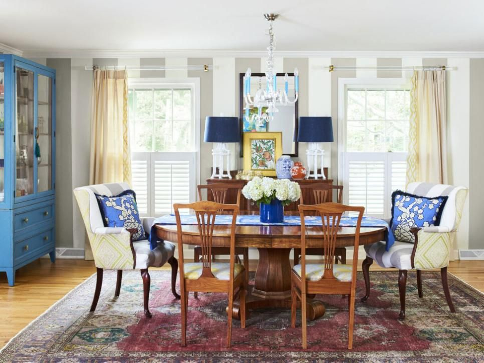 Bright colors bold patterns quirky accessories  fun loving couple breathe new life into this orleans home featured in hgtv magazine also interior decorating inspiration from an old house with young style rh pinterest