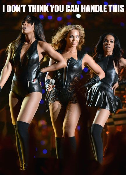 Beyonce's Super Bowl Halftime Performance AND DESTINY'S ...