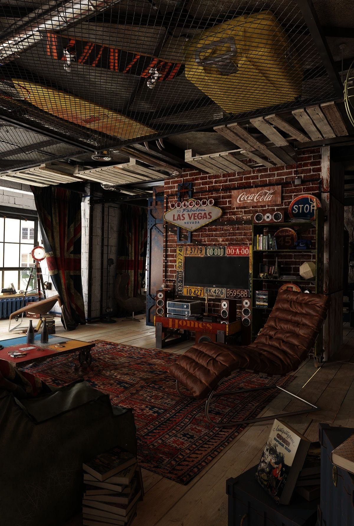 This Is A Pretty Well Thought Out Industrial Space The