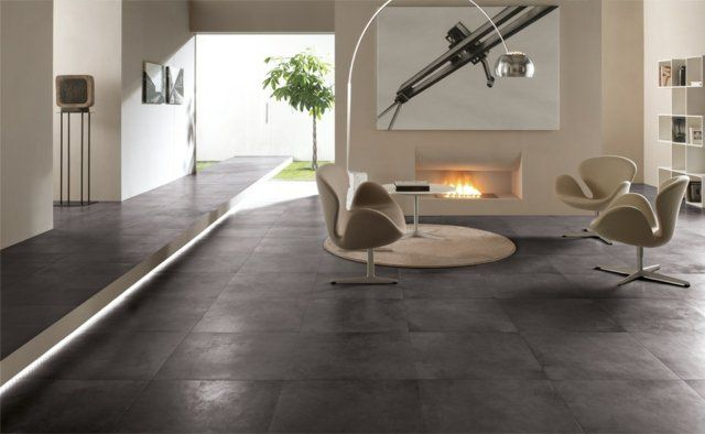 Carrelage Salon Design Carrelage Interieur Carrelage Gris Clair Carrelage Beton Cire
