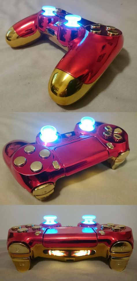 Iron Man Pad Games Ps4 Controller Ps4 Controller Custom