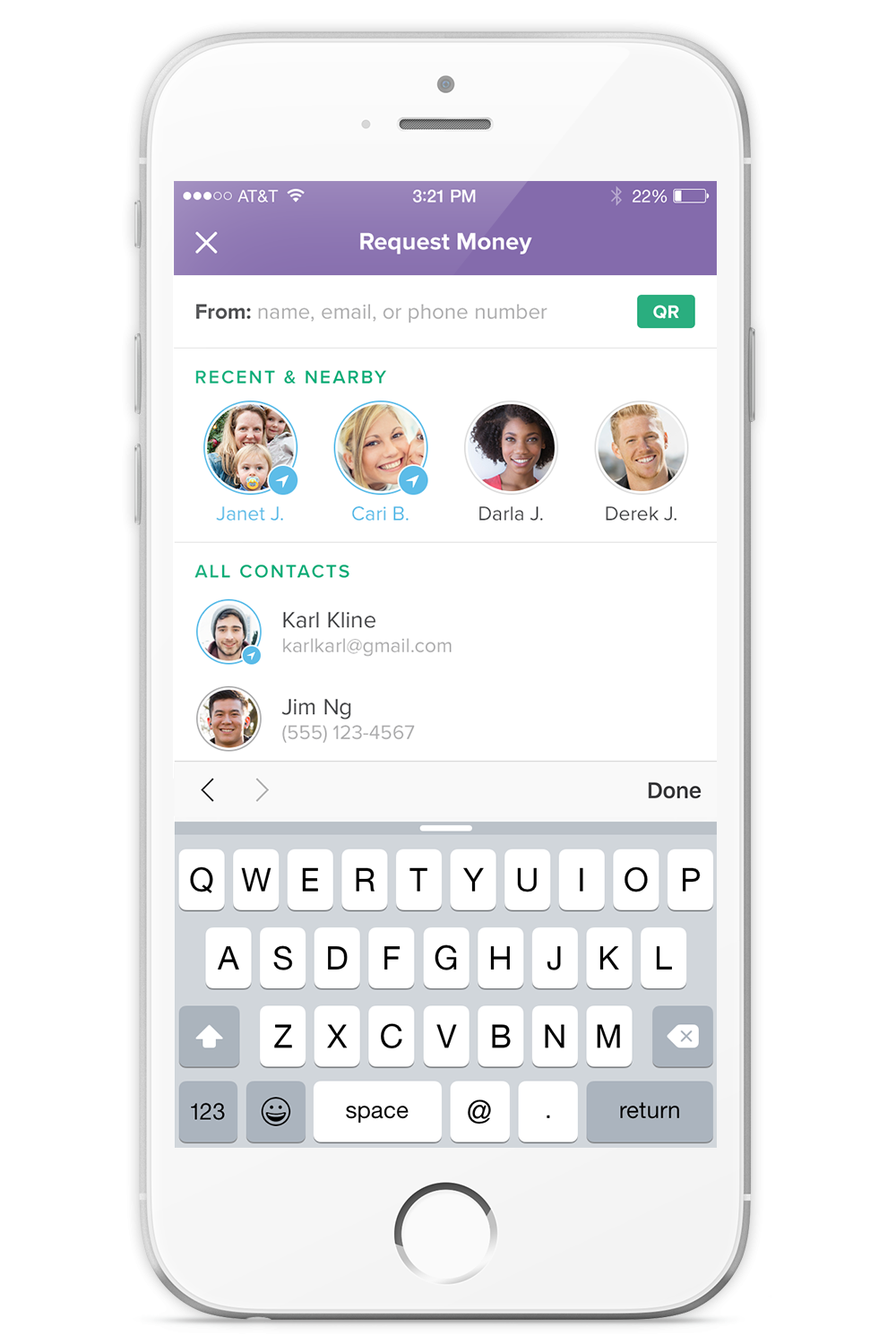 Take a look inside Circle the app that lets you send