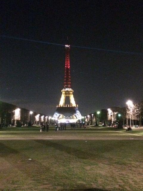 Tour Eiffel. 24 mars 2016.