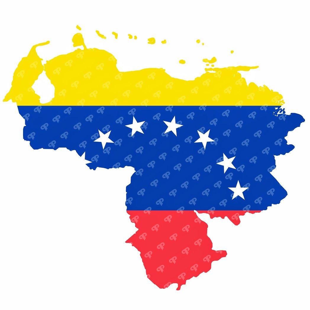 Descarga El Mapa De Venezuela Con Su Bandera Venezuela Flag Graphic Projects Flag