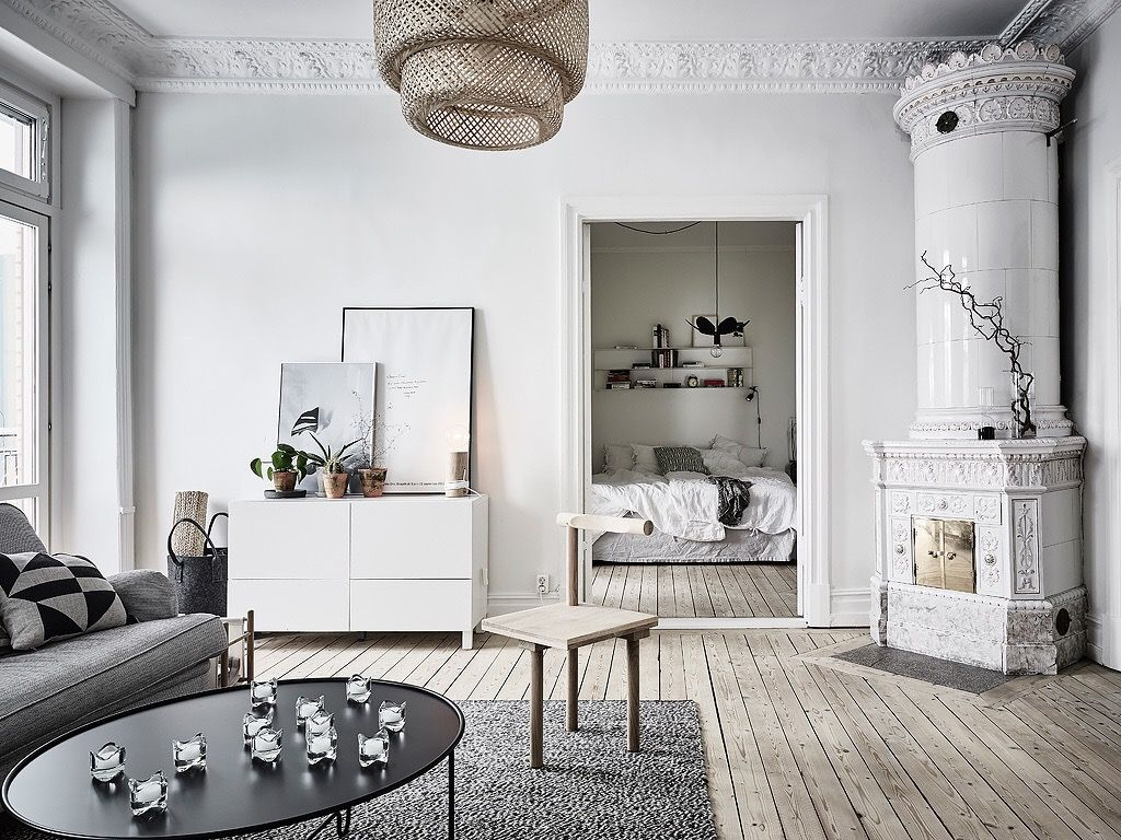 Scandinavian interior design, sinnerlig lamp   Livingroom ...
