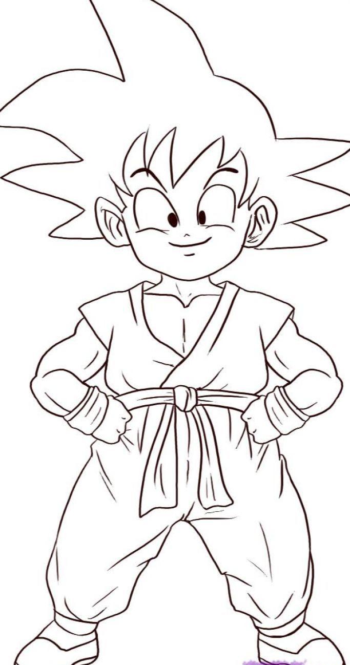 Simple Sketches Dragon Ball Great Drawing Coloring Pages Kids Shenron Gambar Naga Dragon Ball Z Dragon Ball