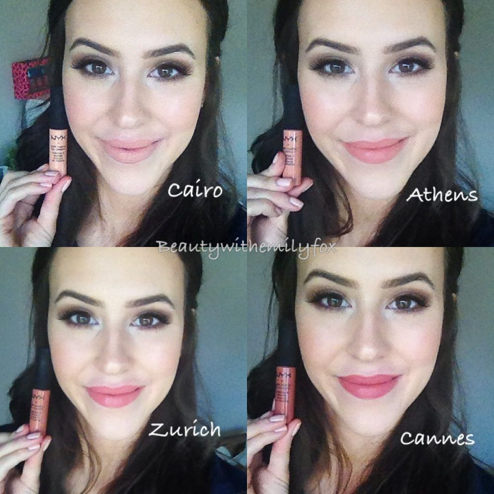 Nyx Soft Matte Lip Cream In Cairo Athens Zurich And Cannes Nyx