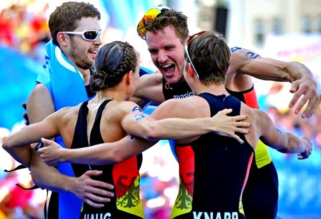 Team Germany Takes Team Mixed Relay World Title http