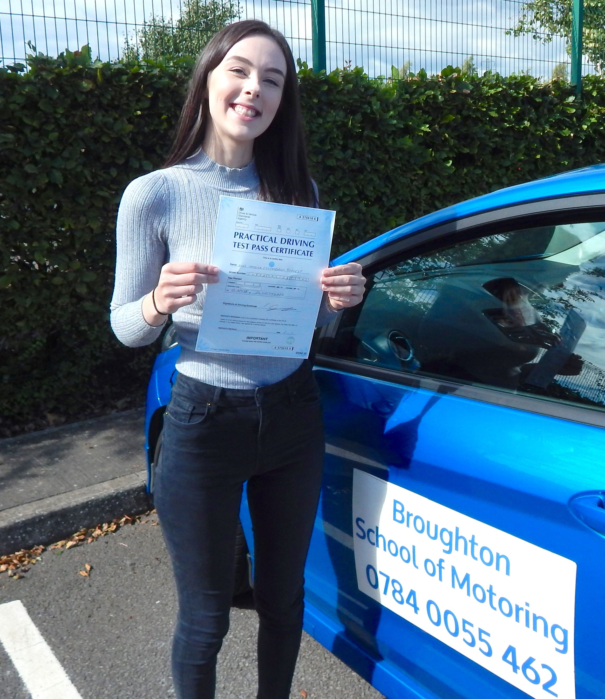 Another Happy New Driver Well Done Jessica New Drivers T