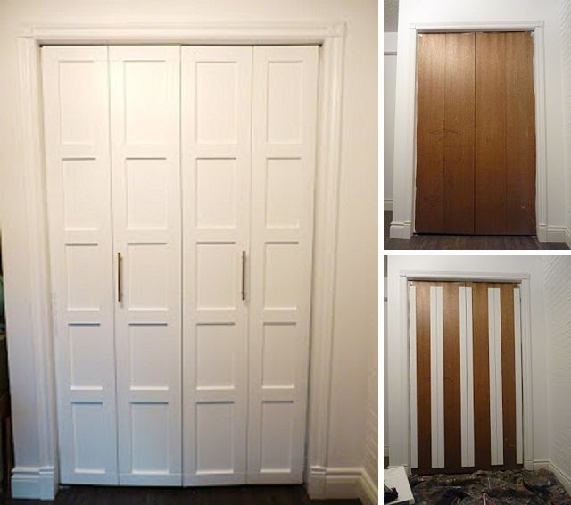 Lovely DIY Shaker Style Bifold Doors: Upgrade Your Bifold Closet Doors To A Shaker Style  Look Without A Shaker Style Price. This Project Adds Casing And A Fresh ...