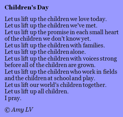 The Poem Farm Celebrating Childrens Day With Poem 235 The Poem