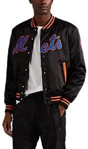 Marcelo Burlon County of Milan NY Mets™ Tech-Satin Varsity Jacket #varsityjacketoutfit