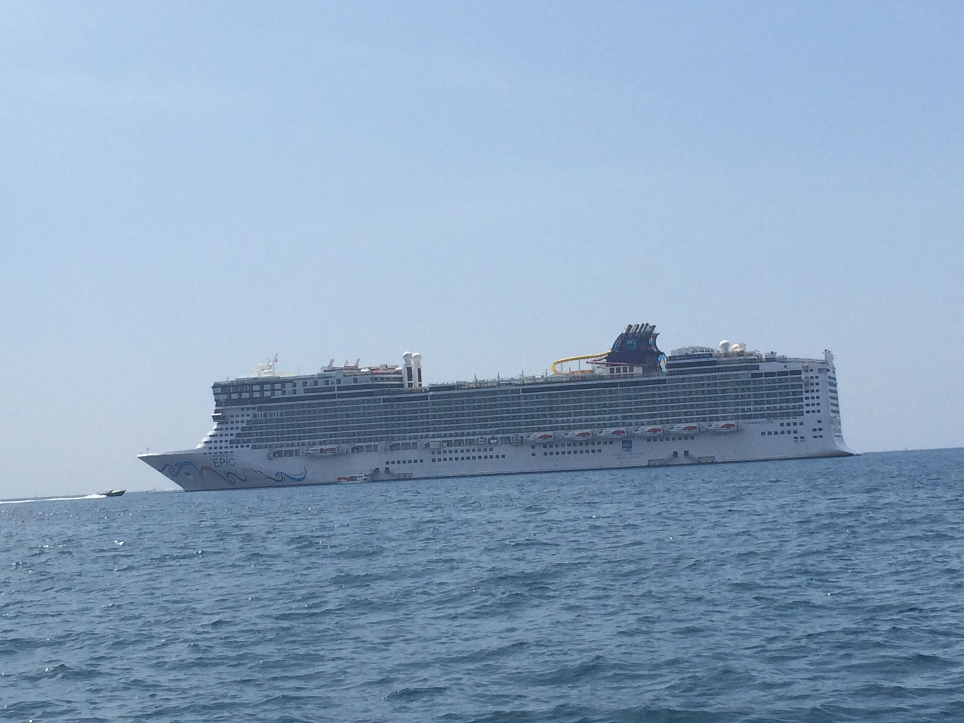 The Nd Biggest Cruise Ship In The Worldthe NCL Epic My Wish - Biggest cruise ships list