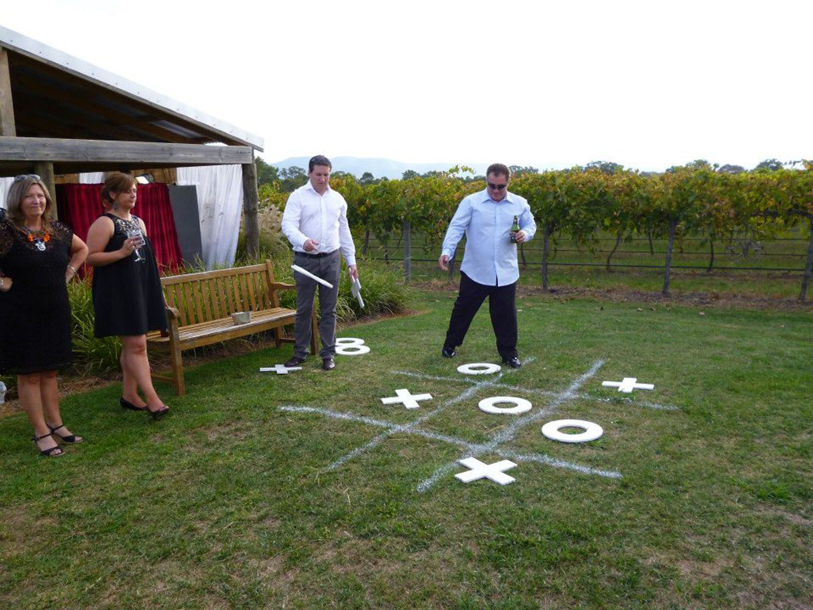 Our Reception At The Vinegrove Mudgee Offers Outdoor Games