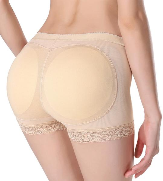 Woman Butt Hip Enhancer Boyshort Panty Fake Ass Underwear Push Up Padded Panties
