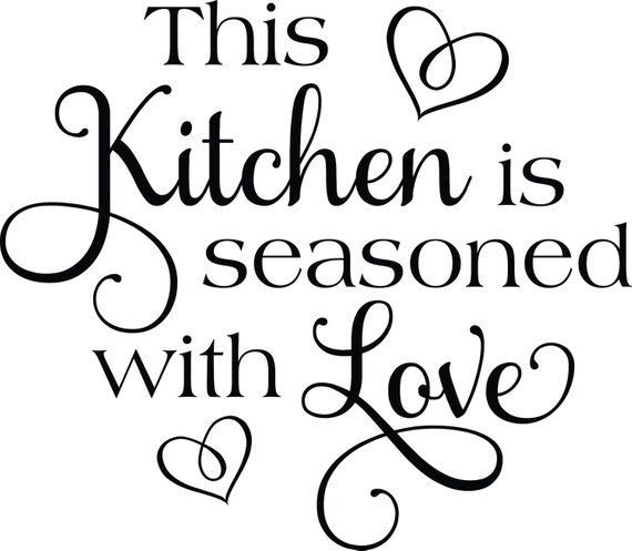kitchen wall decals image by rocio mata on cricut projects on kitchen decor quotes wall decals id=66274