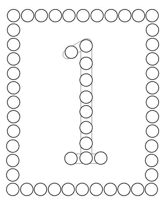 Pon Pon Yapistirma Sayi Calismasi Zahlen Vorschule Kinder Mathe