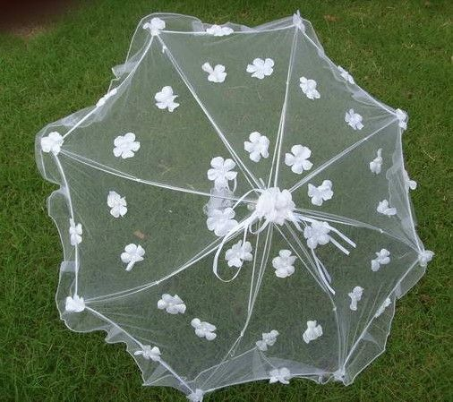 Aliexpress.com : Buy Stylish  White Lace Wedding Bridal Umbrella from Reliable lace wedding umbrella suppliers on HONEYSTORE CO., LIMITED $27.99
