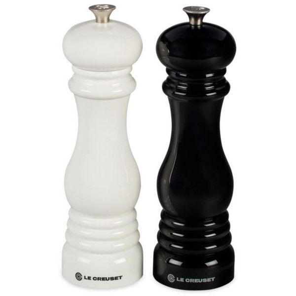 Le Creuset 2Piece Salt And Pepper Mill Set 65 liked on