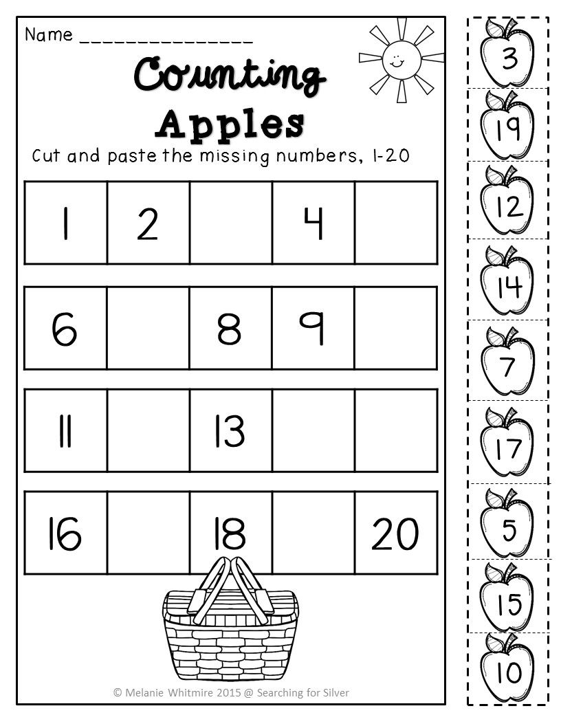 Summer Math & Literacy Printables {Kindergarten} Math