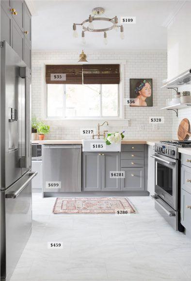 A Budget Breakdown Of The Pittsburgh Kitchen Chris Loves Julia White Floor Tiles