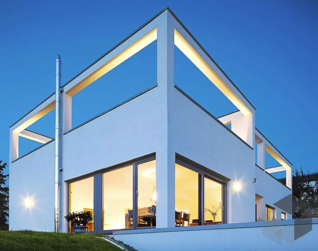 Architektenhaus von Beilharz Haus | 191m² und 9,5 Zimmer ➤ Klick ...