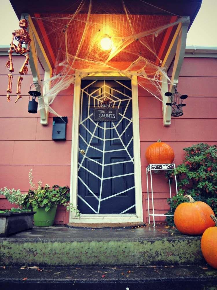 dekorieren sie zur halloween party die t r halloween pinterest halloween partys die t r. Black Bedroom Furniture Sets. Home Design Ideas