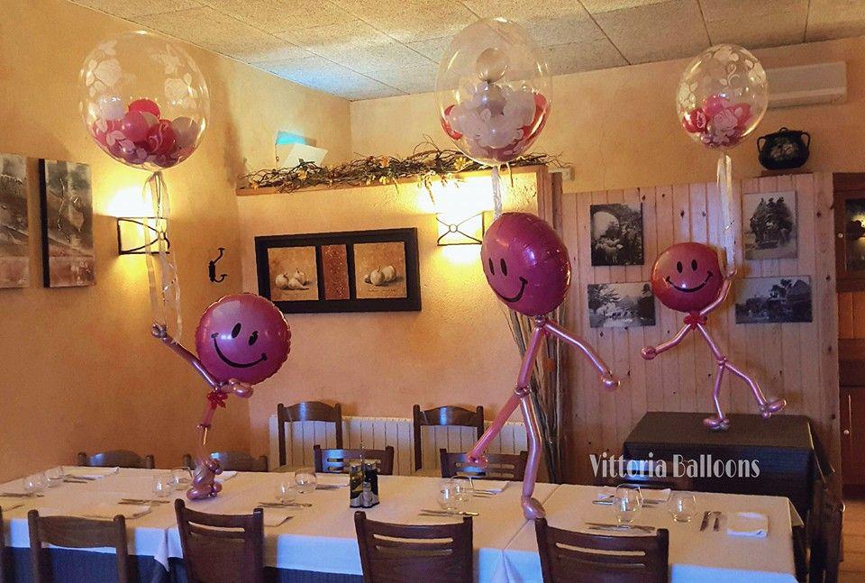 Decoración con globos para cumpleaños   Vittoria Balloons