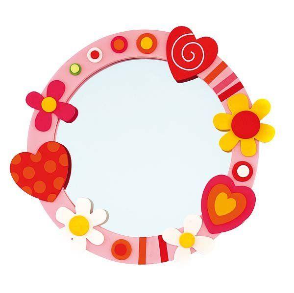 Espejos infantiles para habitaciones habitacion de las for Espejos infantiles