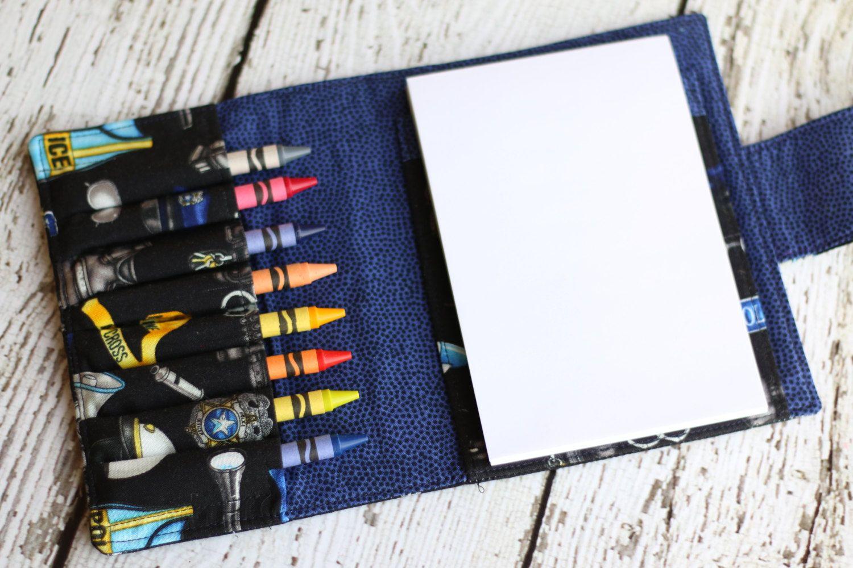 police crayon wallet crayon roll crayon organizer includes