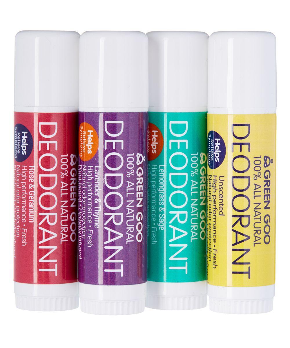 Travel Deodorant Stick Set