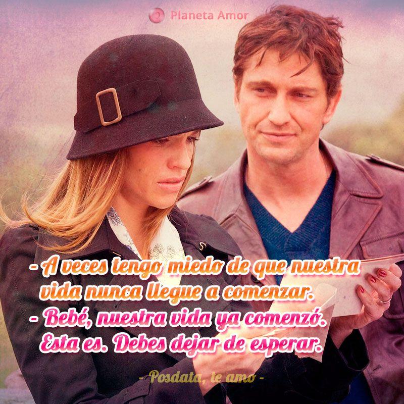 Imagen De Posdata Te Amo Con Frase De La Película Frases