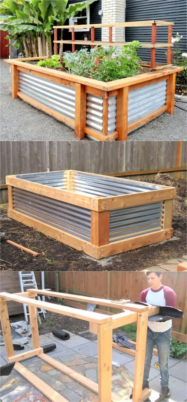 28 Best DIY Raised Bed Garden Ideas & Designs
