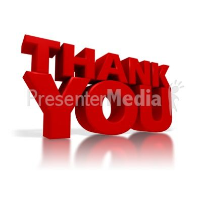 3d gifs thank you | Thank You Presentation clipart | HOW DO YOU ...