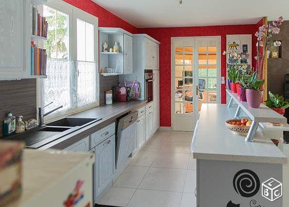 Cuisine Equipee Facades Chene Massif Gris Clair Ameublement Vendee Leboncoin Fr Ameublement Cuisine Equipee Tout Pour La Maison